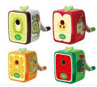 Wholesale Cute Stationery Mechanical Pencils - Candife stationery supplies hand cute pencil sharpeners mechanical fruit pencil sharpeners wholesale