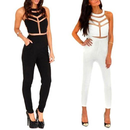 Wholesale Club Organic - S5Q Women's Ladies Sexy Jumpsuits Rompers Bodysuit Club Party Cocktail Outfits AAADNY