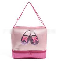 bale bluz çantaları toptan satış-Kızlar Için çanta Yeni Varış Çocuk Prenses Bale Dans Çantası Güzel Cartton Çanta Çocuklar Çanta Mini Omuz Çantaları Ücretsiz Boyutu J0726