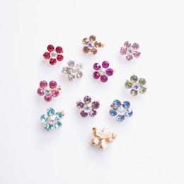 Wholesale Scarves Asian Wholesalers - Fashion 24 pcs Rhinestone Flower Muslim Hijab Pins Islamic Scarf Pins good for Scarf free shipping