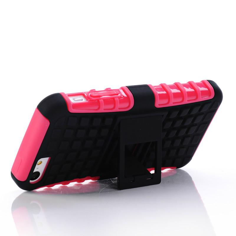 2 in 1 KickStand Impact Rugged Heavy Duty TPU+PC Hybrid Shock Proof Cover Cases For Iphone 4 4s iphone 5 5s iphone 5c Galaxy s5 i9600