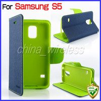 Wholesale Note2 Leather Cover - Flip Leather Case Cover Wallet Credit Card Stand Mercury Goospery Fancy For Samsung Galaxy S5 S4 S3 Note2 Note3 S4mini iPhone 5 5S 4 6 4.7''