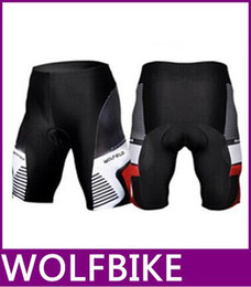 Wholesale Microfiber Wash - new Sportswear Men cycling clothing Bicycle Mountain Road downhill Bike Coolmax Padded Cycle Shorts Black Tights new top sale