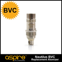 resistance:1.8ohm original quality suit - 100 Original aspire BVC coil Suit for Nautilus Mini and nautilus tank Huge vapor much taste high quality TPD Packing