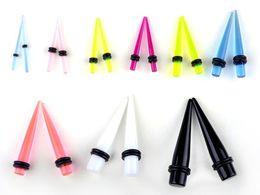 Wholesale Taper Plug Stretching Kit - Wholesale Jewelry Lots Ear Expander Taper Plug Ear Stretching Kits Fashion Earrings 180PCS[BC13(180)*1]