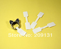 Wholesale Blank Jewelry Square - 1000PCS Blank Square Jewelry Ring Size tag lable,free shipping