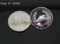 Wholesale Bonnet Badge - 20Pcs Lot 82mm Bonnet Hood Boot Badge Emblem Sticker E39 M3 E46 & E90 Acs Ac Free Shipping