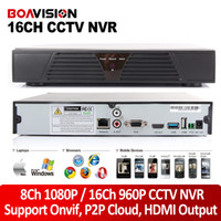Wholesale Hdmi 8ch - P2P cloud CCTV NVR 16ch 960P 720P or 8ch 1080P ONVIF HDMI OUTPUT H.264 Network NVR for IP camera support Windows Mobile Iphone Android
