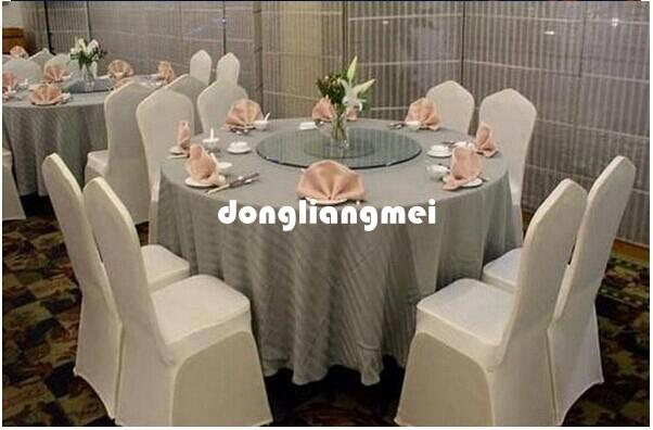 new Universal White Polyester Spandex Wedding Chair Covers for Weddings Banquet Folding Hotel Decoration Decor Hot Sale Wholesale #Z313
