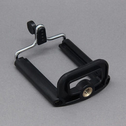 Iphone Clips For Tripods Canada - Universal Clip Mobile Phone Camera Tripod Stand Holder for iPhone 4 4s   iPhone 5   HTC  Samsung