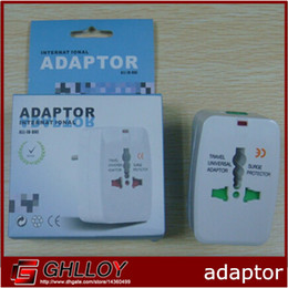 Wholesale International Plug Sockets - Multi-purpose ADAPTOR Plug Socket International Adptor Travel Universal Adaptor 300pcs up