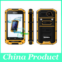 "Wholesale Discovery Smart Phones - Original Discovery V6 4"" Android 4.2 MTK6572 Dual Core Smart Waterproof Shockproof Cell Phone 512M 4G Rugged IP68 002392"