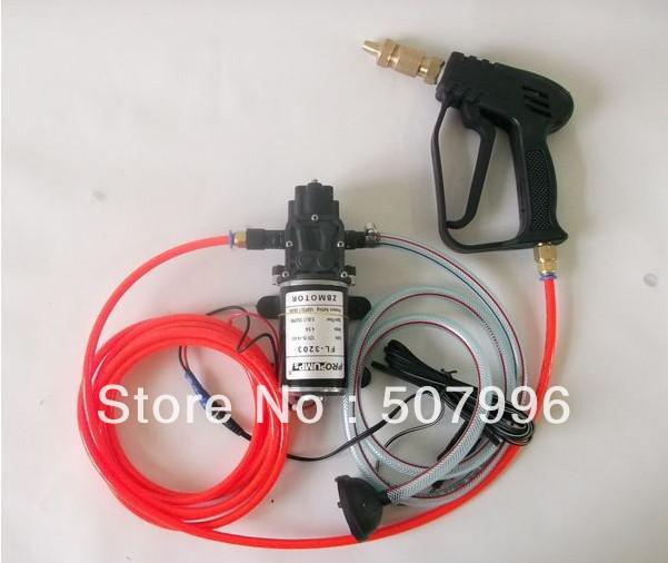Free shipping electric sprayer pump 12V water pump (FL-3203 5 0L/MIN 100PSI  7 0BAR Black color