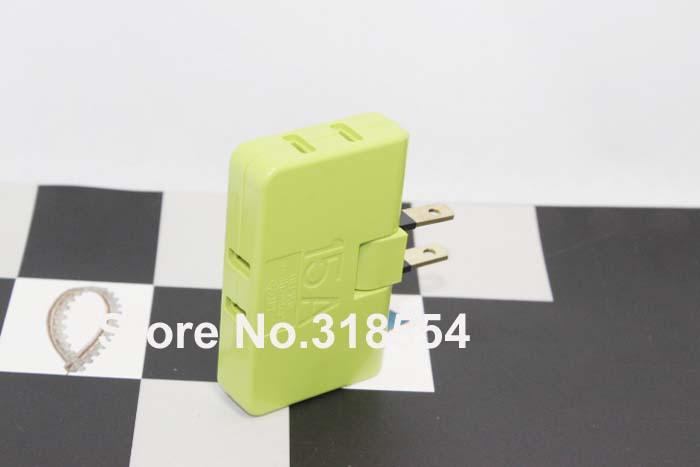 / 3 en 1 nosotros para rotación de 180 grados del adaptador de enchufe giratorio Mundial cargador de pared convertidor de viaje plana Pin envío