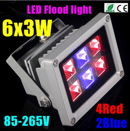 Wholesale Led Super Plant - FREE SHIPPING 18W Blue 445nm Red 660nm Hydroponic Plant Flood LED Grow Lights 10W 20W 30W 50W led floodlight Super Bright