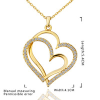 Wholesale Low Priced Hot Plates - Wholesale - - lowest price Hot Sell 18k gold plated Necklace TN584