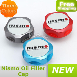 Wholesale-407-Car Cover New Billet Engine For  Nismo Fill JDM Tank Fuel Oil Filler Cap Genuine Silvia free shipping