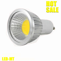 Wholesale Dimmable E14 Warm White 5w - x10 unit Free shipping Dimmable Led COB Lamp 5W 7W 9W E27 GU10 E14 GU5.3 110-240V MR16 12V Led Light Spotlight led bulb lighting bulbs