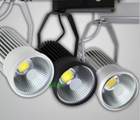 conduit cob 25w achat en gros de-COB Track Lights 25W LED Track Light Super Bright LED Réflecteur Lampe LED Spot Energy Saving Spotlight conduit piste éclairage 85-265V Livraison Gratuite
