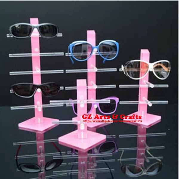 top popular High Quality Multilayer Acrylic Sunglasses Display Stand Sunglasses Glasses Display Shelf Bracelets Earrings Jewelry Display Stand 2021