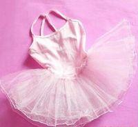 Wholesale Pink Tutu Coat - 10pcs lot wholesale girl dress kid Ballet dress pegeant tutu Dance party dress petti coats baby girl dance dress wholesale drop ship
