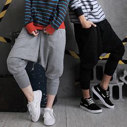 Wholesale Harem Pants Baggy Capris - Wholesale Men Women Hip Hop Harem Pants Drop Crotch Sweatpants Trousers Slacks Pants Casual Baggy Pants Asian Size M-XL R39