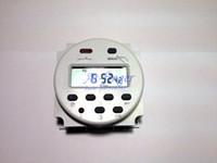 interruptores 16a al por mayor-Redondo 220V Digital LCD Potencia Temporizador programable Interruptor de tiempo Relé 16A 250AC H0011