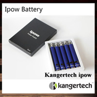 Wholesale Ego Vv Lcd - 50 pcs Kangertech VV Battery Ipow Kanger Ipow Battery With LCD Screen Ego Thread 650mah Battery