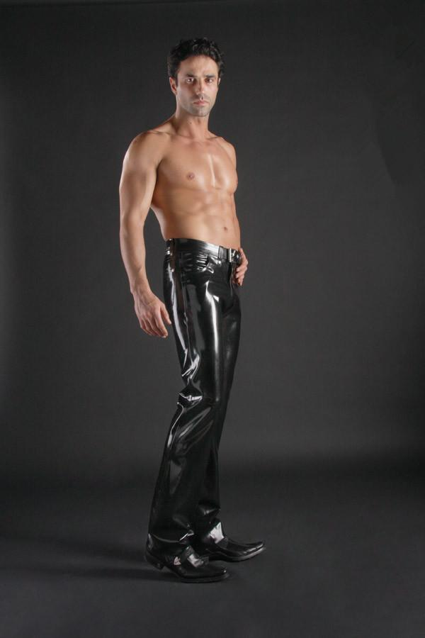 Men S Latex Pants 73