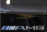 autocollants métalliques 3m achat en gros de-10 Pcs / lot Métal Argent Chrome 3 M AMG Décalque Logo Emblème Livraison Gratuite New Hot Bonne qualité Car Badges