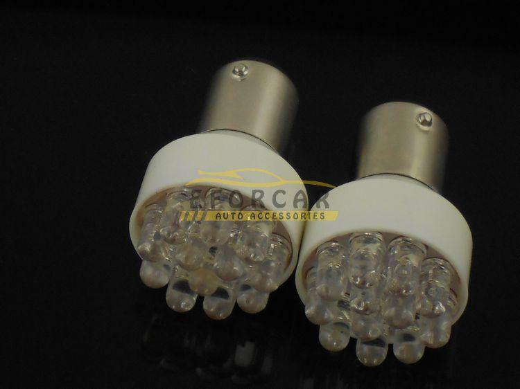 50ocs / 1157 1076 12 LED Dönüş Sinyali Durdurma Kuyruk Köşe Fren Park Ampul Lamba 12 V Ücretsiz Kargo