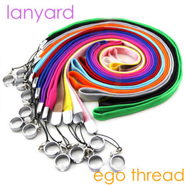 Wholesale Electronic Cigarette Ego K - Lanyard of electronic cigarettes ego ego-t ego-k ego-c ego w evod battery mods ego 510 thread starter kits Necklace String Neck Chain