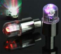flashing LED Valve Caps Bike Bicycle Motorcycle DRL Car LED ...
