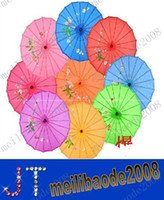 Wholesale Transparent Fabric Wholesale - NEW hand made Chinese transparent parasols Bridal wedding parasols S Size   L Size MYY9471