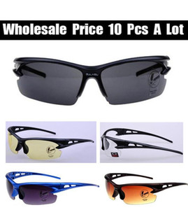 Wholesale Cycling Bicycle Colorful Sport Sunglasses Riding Sun Glasses Outdoor Sport Parkour Mirrors cycling Eyewear