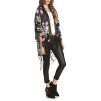 Best Floral Long Kimono Vintage Cardigan to Buy | Buy New Floral ...