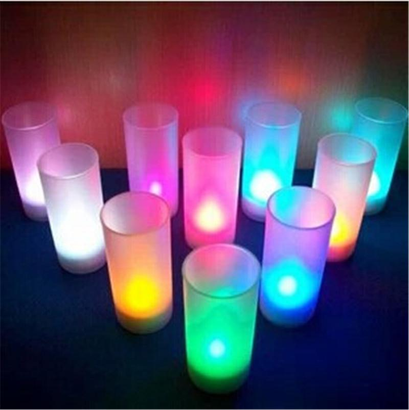 2019 Voice Control Night Light Party Led Candle Light Lamp