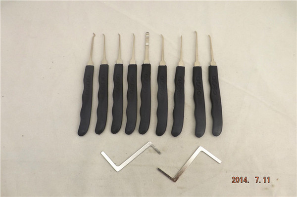 best selling Advanced Goso 11pcs Lock Pick Tools Lock Opener Padlock Tools LOCKSMITH TOOLS A498