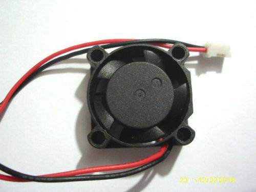 top popular Brushless DC Cooling 5 Blade Fan 2510s 12V 25mmx25mmx10mm 2021