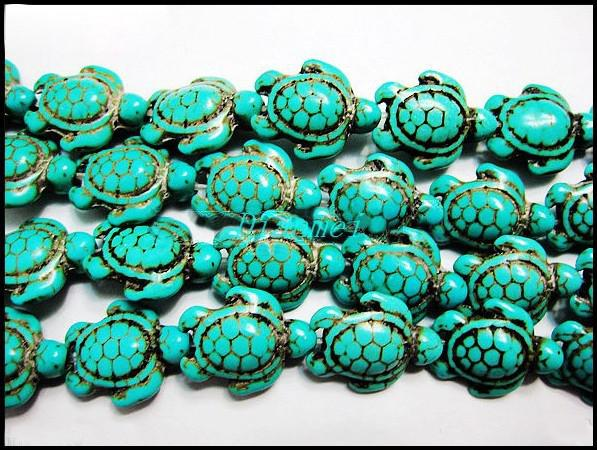 Blue Turquoise Beads20140406-3