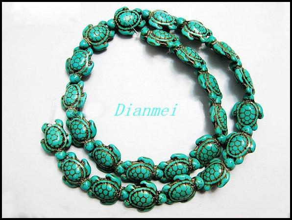 Blue Turquoise Beads20140406-3-1