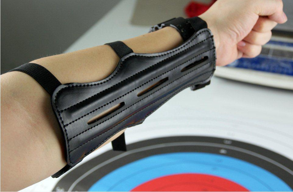 Genuine Leather Archery Arm Guard for All Archers Protective Equipment