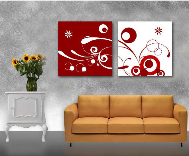 2018 2panels Hot Modern Simple Abstract Picture Decorative Canvas Painting Living Room Paint Wall Hanging Ar From Xiaoweng123 3415