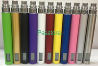 Wholesale Ego Battery Lcd Kit - eGo LCD Battery for Electronic Cigarette Kit 650mah 900mah 1100mah LCD Display for all eGo Series