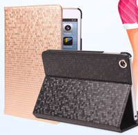 Wholesale Ipad Case Diamond Pattern - For iPad 2 3 4 5 Air Luxury Bling Diamond Pattern Stand Flip Smart Leather Case Cover With Auto Sleep Wake UP