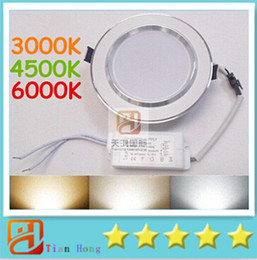 9 W 12 W 15 W 18 W 20 W Ayarlanabilir Renk Sıcaklığı Led Downlight (Sıcak / Doğal / Soğuk Beyaz) 3 Renk Değişimi 1 Birim Led Işıkları AC 85-265 V supplier unit lights nereden ünite lambaları tedarikçiler