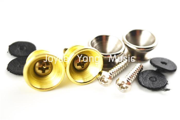 أليس 2 مجموعات الصوتية الغيتار الكهربائي الشريط أقفال NickelGold معدن مطلي ينتهي شحن مجاني بالجملة