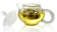 Wholesale Glass For Tea Coffee - 250ml Glass Teapot Tea pot Easy Use Tea Set For Make Flower Tea And Coffee