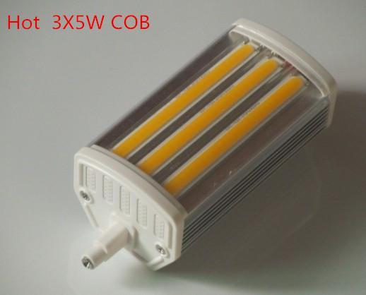 118mm dimmable led r7s light 15w j118 cob led r7s lamp replace 300w halogen lamp ac85 265v 60w. Black Bedroom Furniture Sets. Home Design Ideas