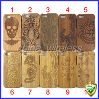 Wholesale Wood Cork Case - 10PCS Natural Wood Wooden Case Cover For Iphone 5 5S 5G Real Cork Back Cover